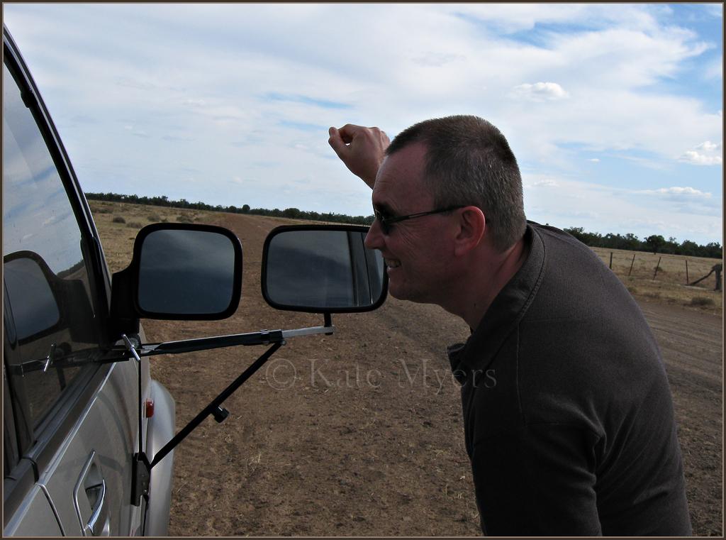 Chris Attracting Emus