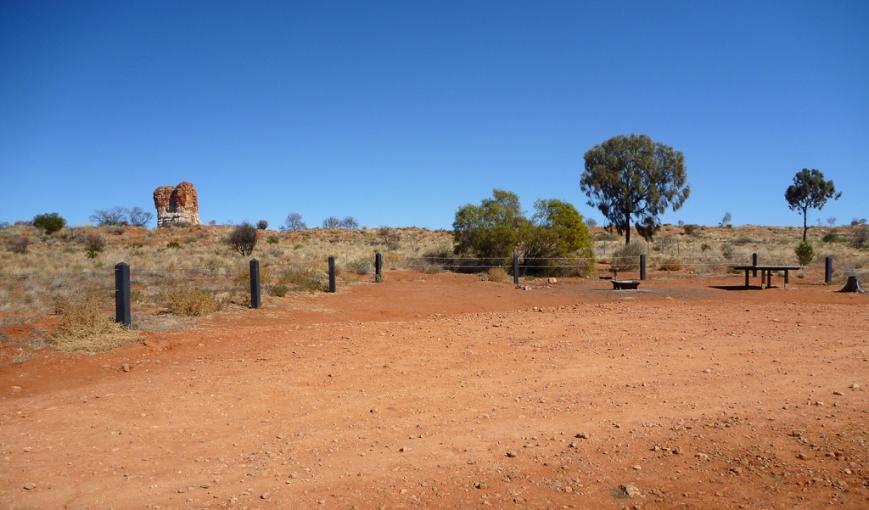 Chambers-Pillar-campsite-2