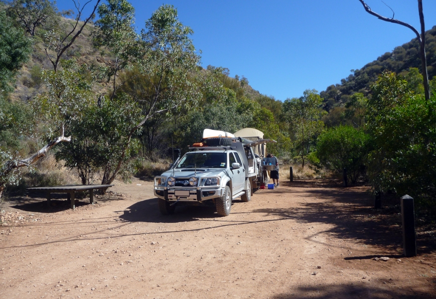 Our-campsite