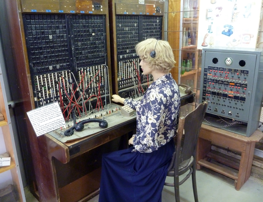 Telephone-Exchange