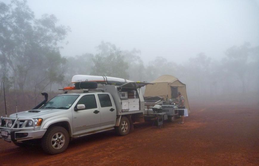 Foggy-Campsite