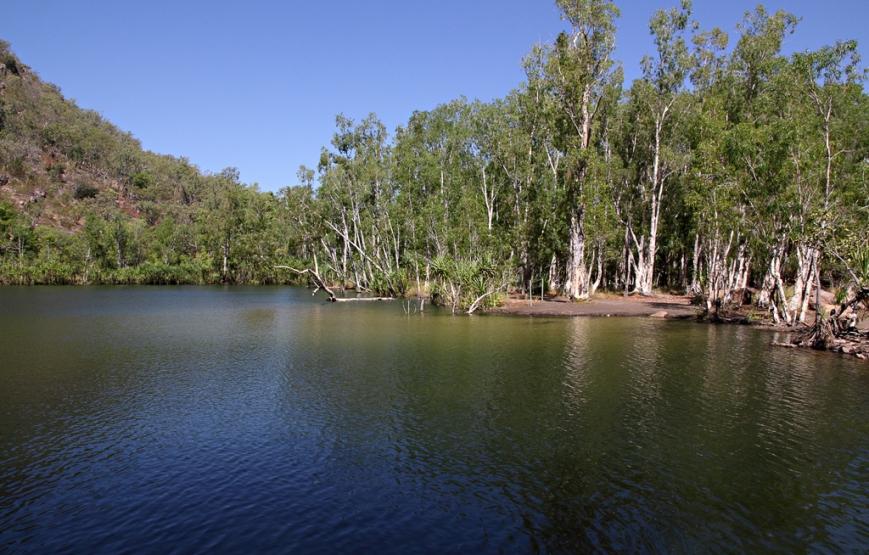 Gunlom-waterhole