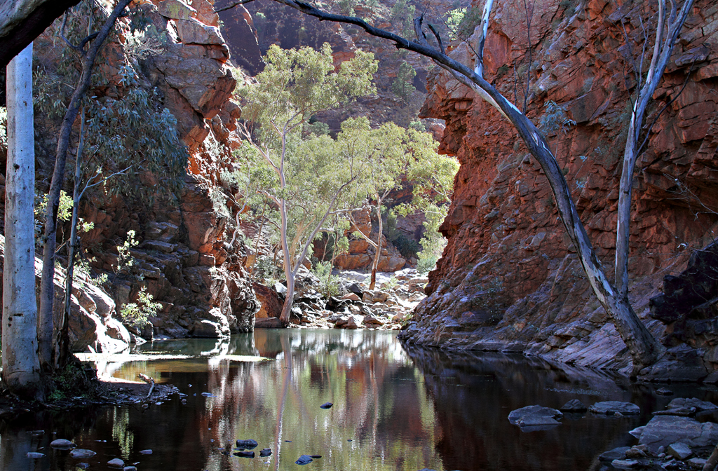 Gorges, Gorges and Ochre Pits