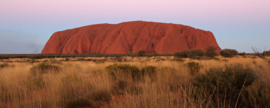 Sunset-at-Uluru