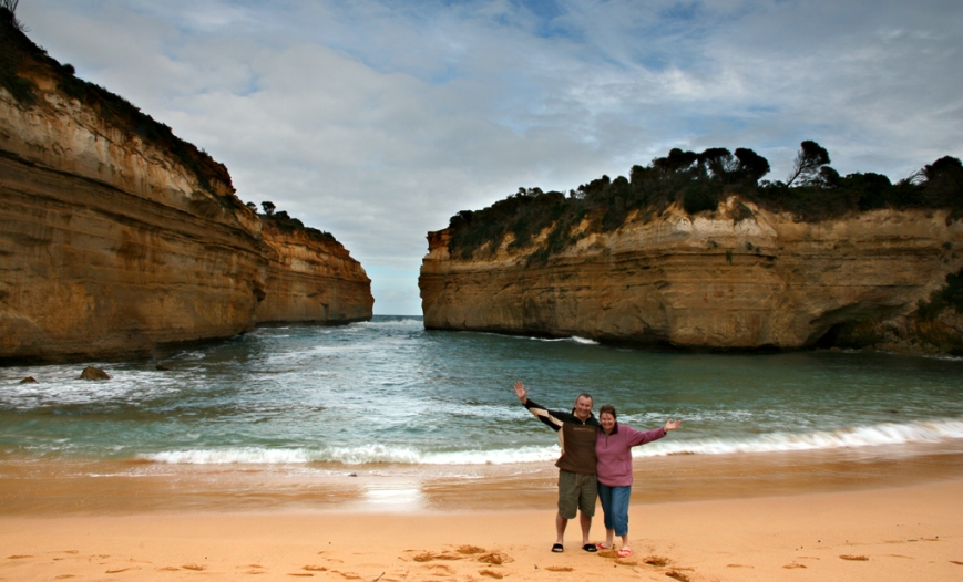 Us-at-Loch-Ard-Gorge