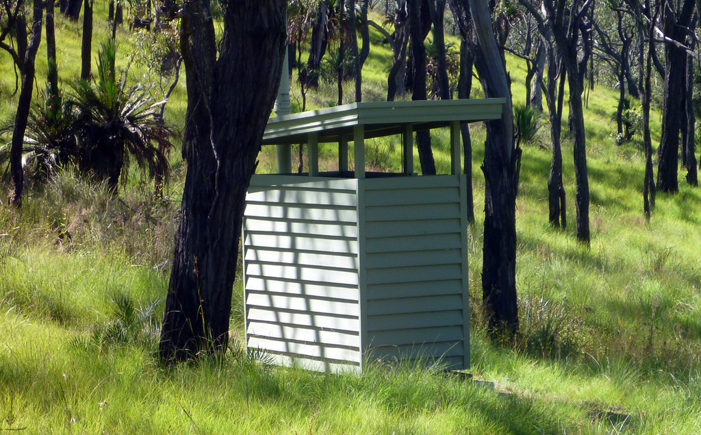 Q – Mt Moffatt – Rotary Shelter Shed