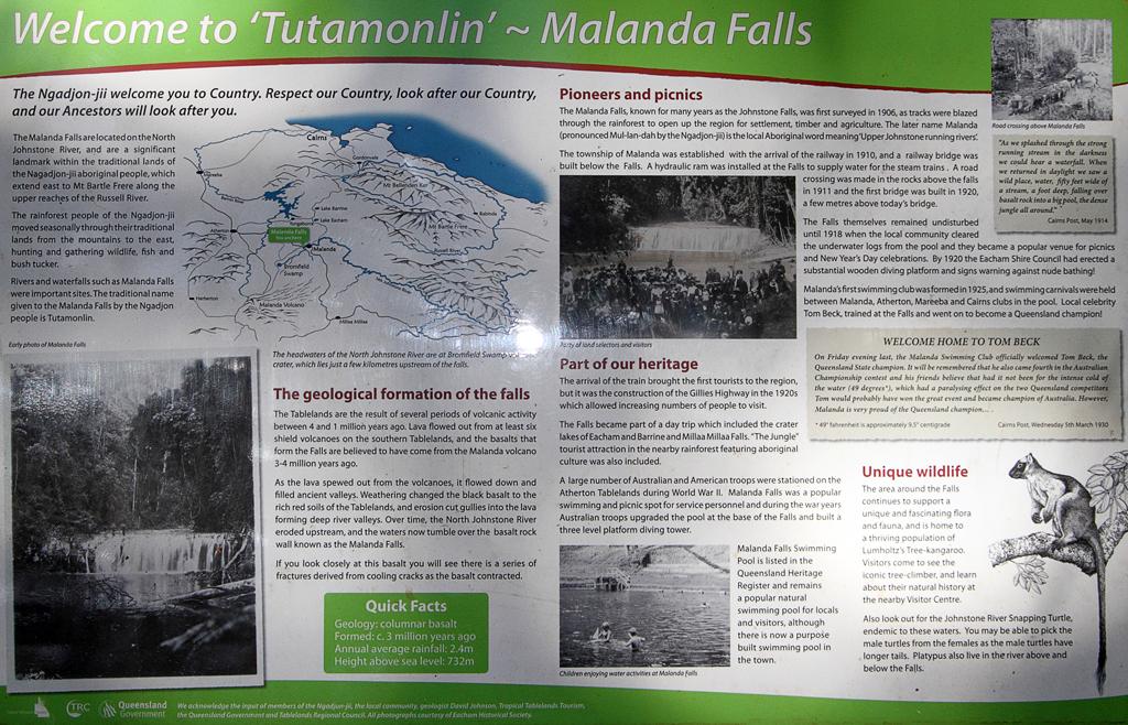 Malanda-Falls